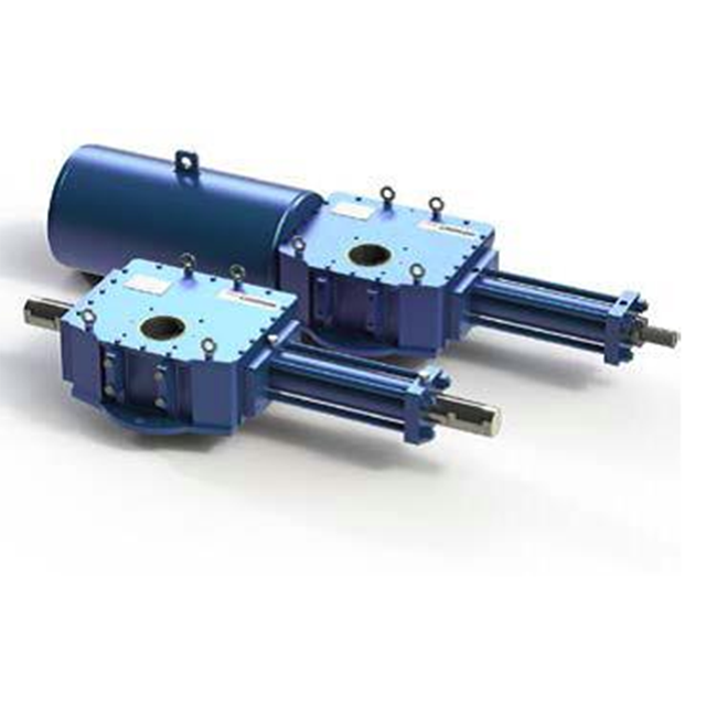 Гидравлический привод Limitorque LHS с кулисным механизмом scotch-yoke