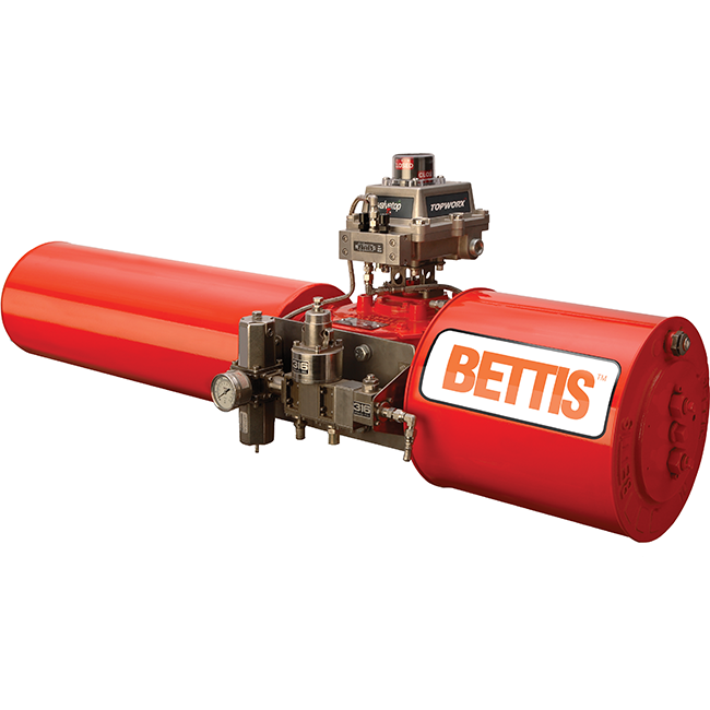 Bettis G series pneumatic and hydraulic actuators