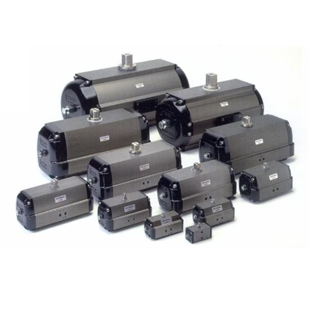S sorozatú Rack&Pinion pneumatikus hajtómű