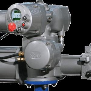 EFS quarter-turn electro-hydraulic intelligent actuator