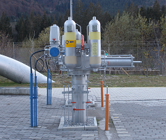 GPO Gas-over-Oil pipeline actuators